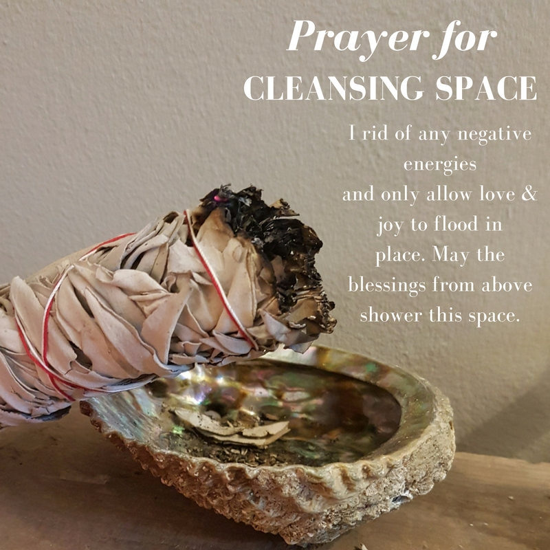 Smudging Prayer - Goddess of Wisdom Spiritual Life